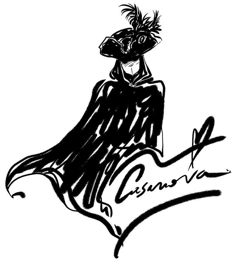 Maschera Casanova Venezia