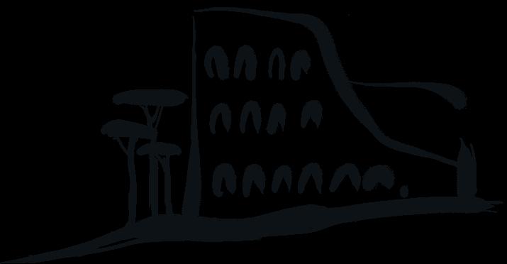 Disegno Colosseo Roma romantico