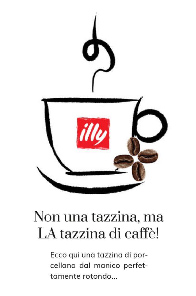 tazzina di caffè Illy