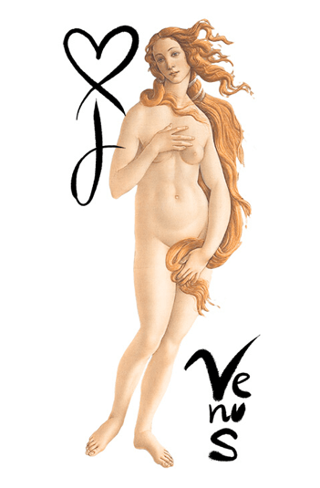 Icona Venere Rinascimento