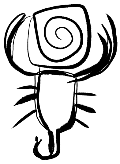 pietra scorpione