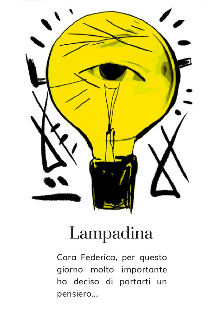 Lampada design - lampadina Castiglioni