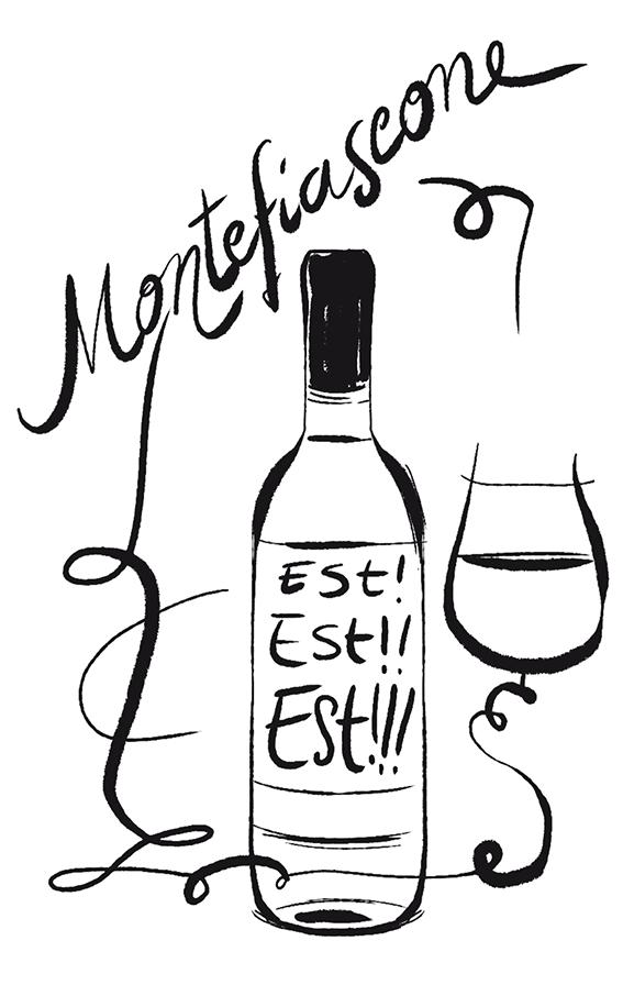 Vino bianco montefiascone