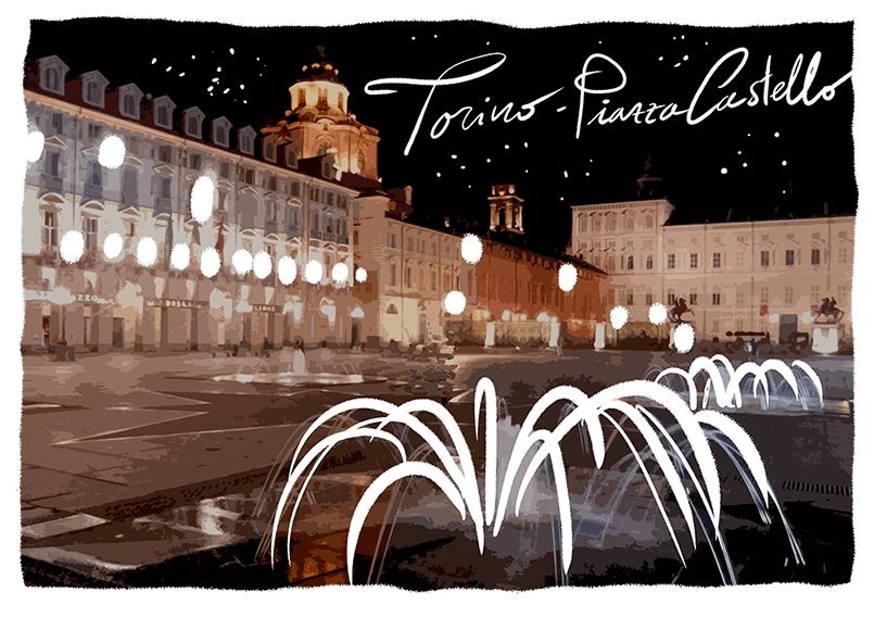 Torino di notte magica