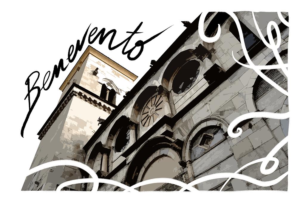 Cartolina di Benevento