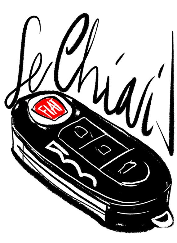 Illustrazione chiavi