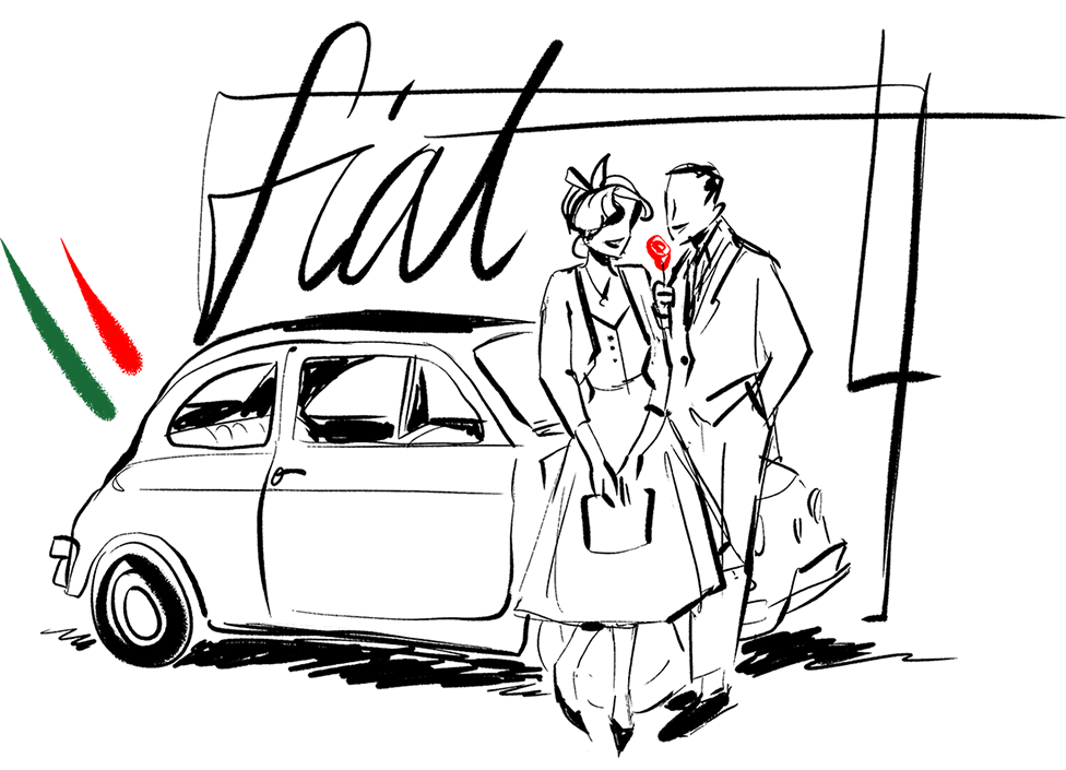 Anni 50 Italia