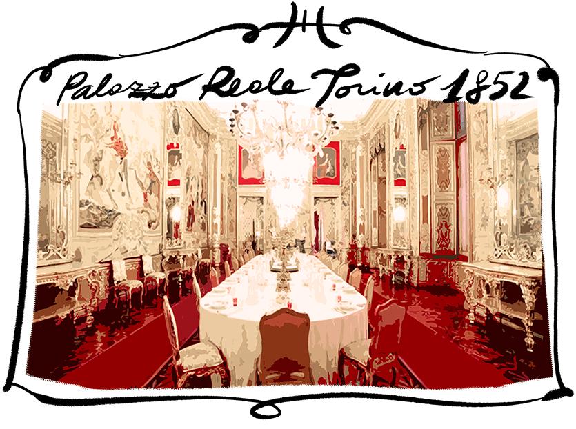 Sala da pranzo a Palazzo Reale, Torino