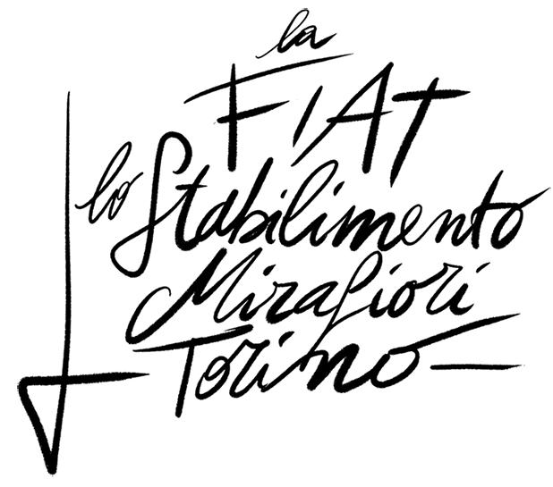 Stabilimento Mirafiori Torino fiat
