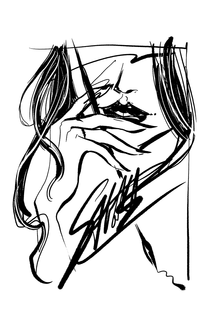 disegno donna fumetto