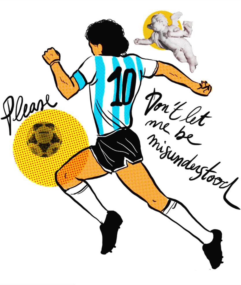 Maradona Argentina morte