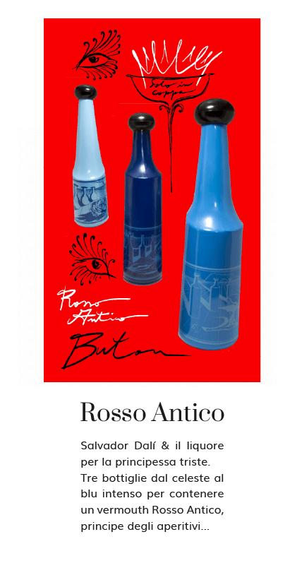 bottiglie Rosso Antico Salvador Dali