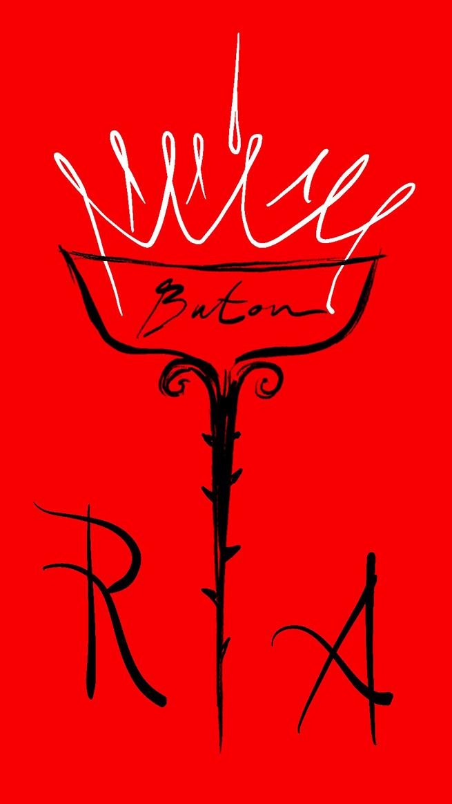 liquore vintage rosso antico