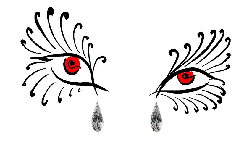 principessa diamanti arte