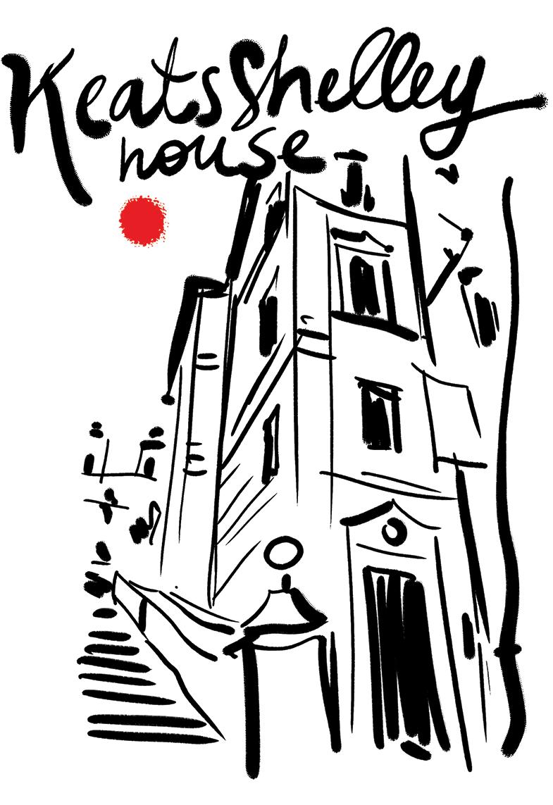 casa di keats e shelley roma