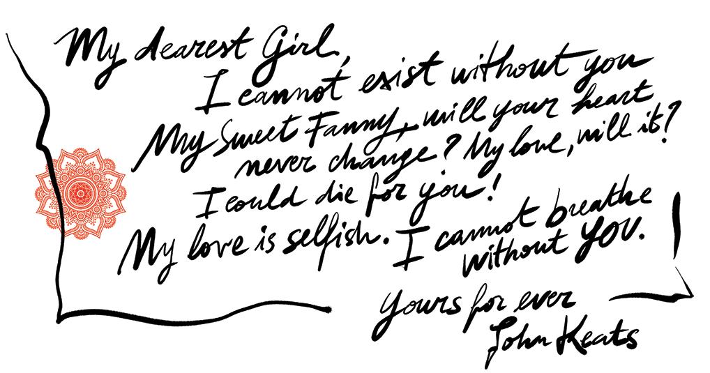 keats letters to fanny brawne