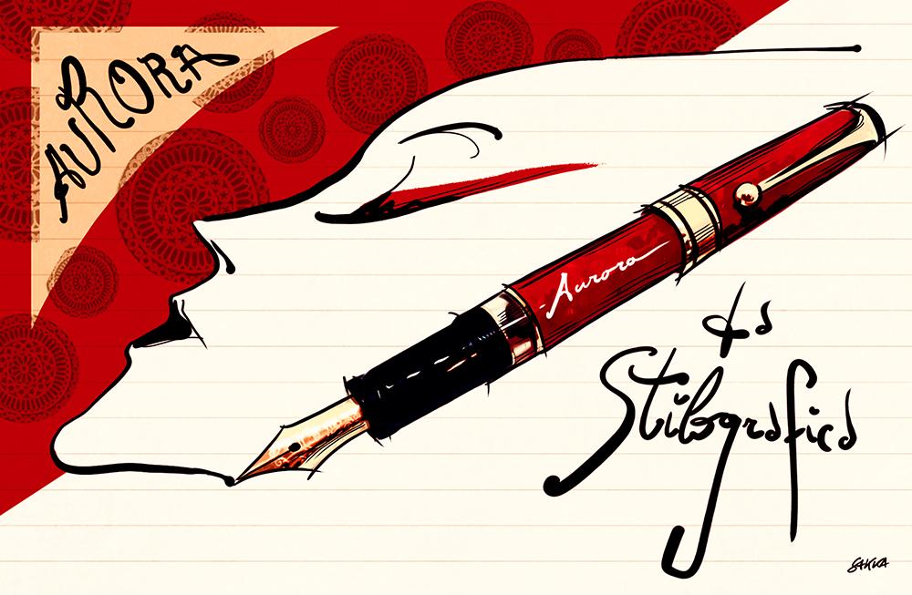 Aurora penne stilografiche vintage