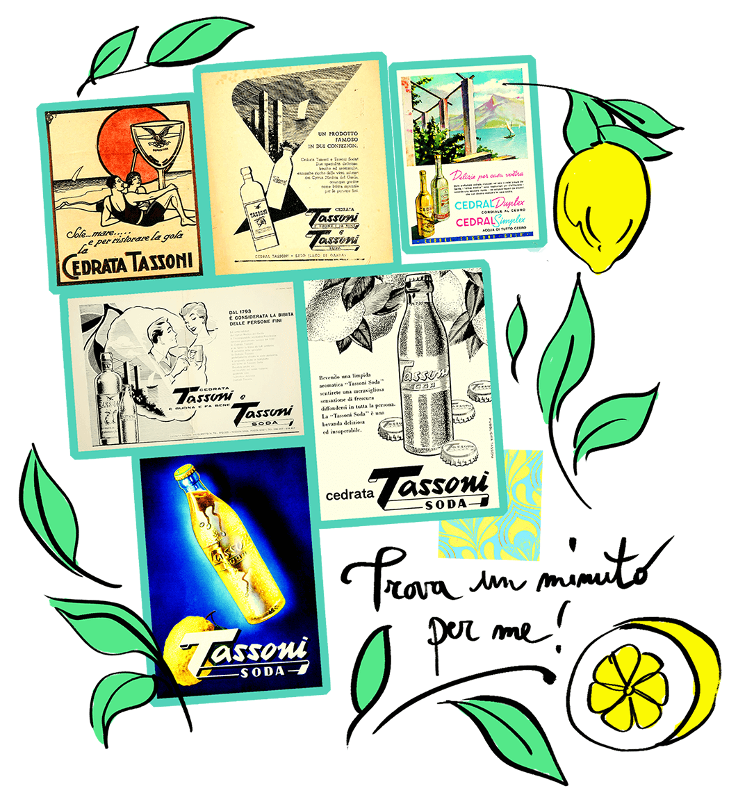 Cedrata tassoni pubblicità vintage