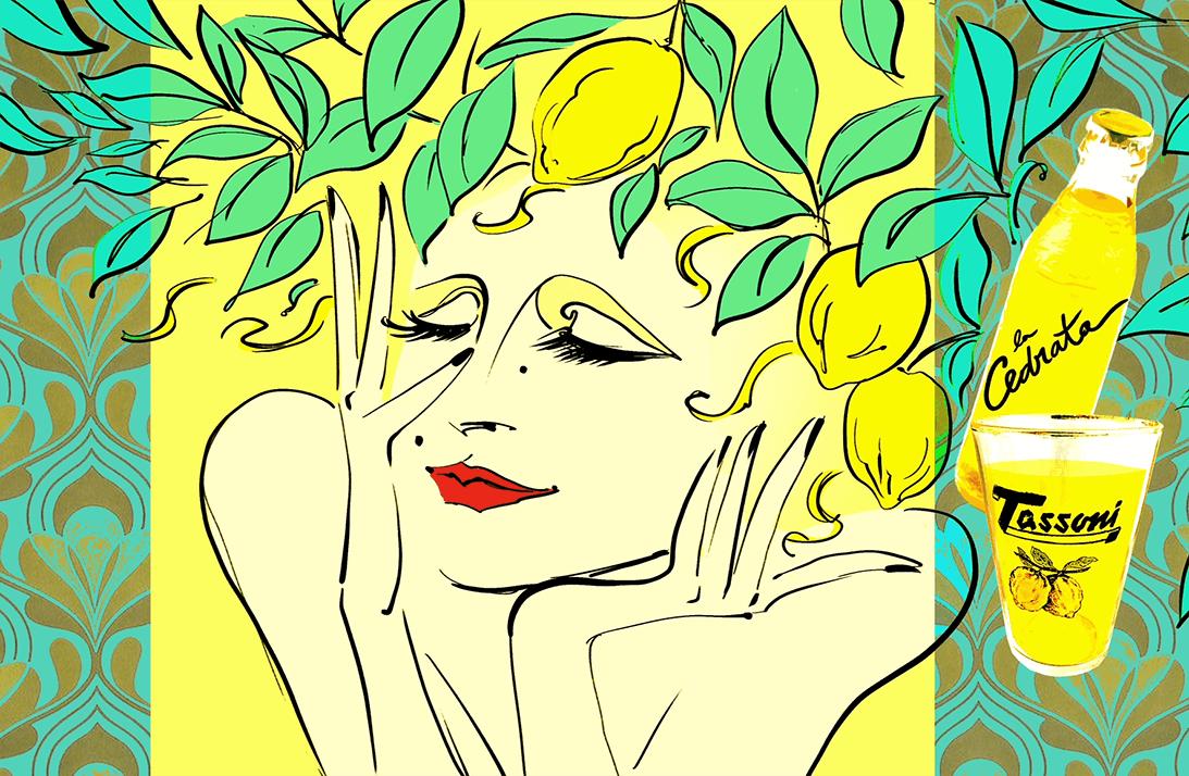 Tassoni gialla cedri