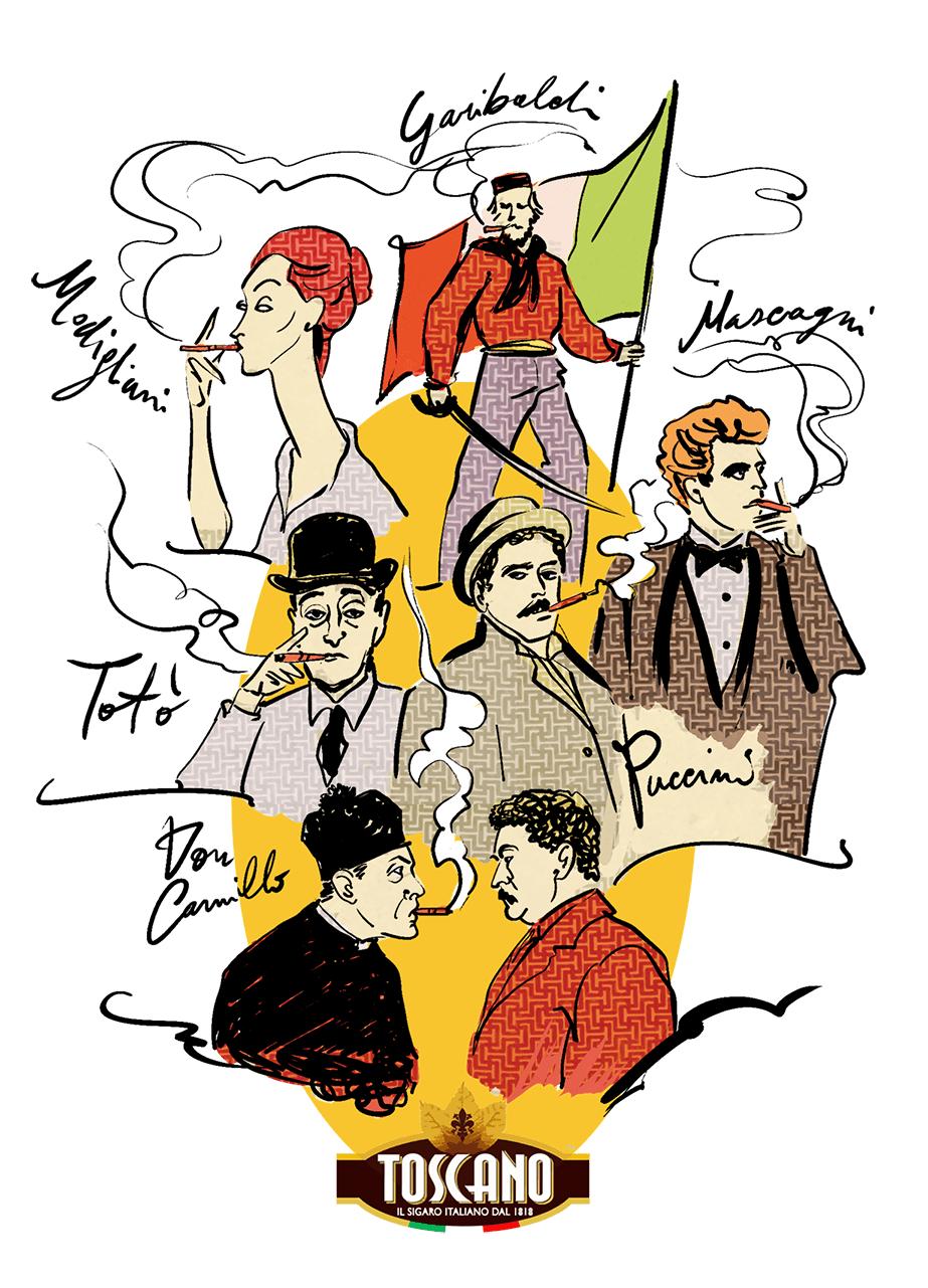 italiani illustri famosi